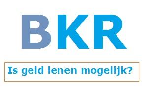 Minilening en BKR notering?