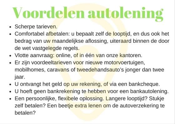 voordelen-autolening-aanvragen