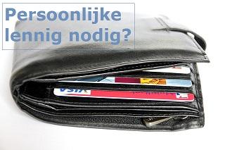 Persoonlijke lening aanvragen