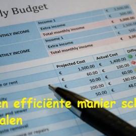 Hoe een lening afbetalen met de nul-som budget methode