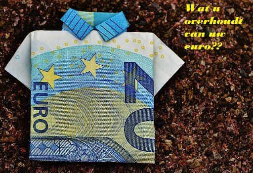 Dollarrekening omzetten in euro kost ook geld!