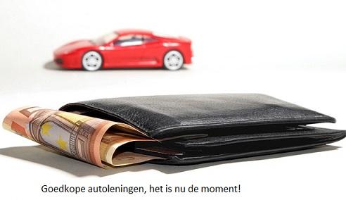 goedkope autolening nodig
