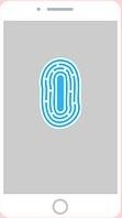 smart-banking met behulp van vingerafdruk