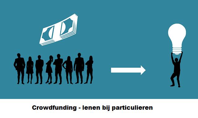 geld lenen bij particulieren - crowdfunding