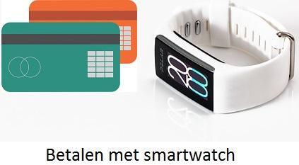 Contactloos betalen met smartwatch