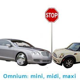 Omnium: de ene is de andere niet