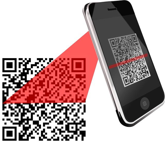 QR code bank-app Belfius